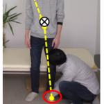 脳卒中(脳梗塞・脳出血)片麻痺のリハビリ:ハンドリングの極意 その⑤-2 接触ポイントを全身から感じ取れるか?~下肢治療の場合~