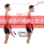 vol.93:姿勢の連鎖と筋活動      脳卒中/ 脳梗塞リハビリ論文サマリー