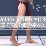vol.135:歩行時における柔軟性に欠けた膝(Stiff Knee)の原因とは?    脳卒中/脳梗塞リハビリ論文サマリー