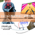 vol.162:視覚情報と姿勢制御  脳卒中/脳梗塞のリハビリ論文サマリー