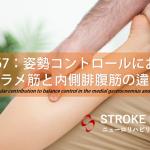 vol.267:姿勢コントロールにおけるヒラメ筋と内側腓腹筋の違い  脳卒中/脳梗塞のリハビリ論文サマリー