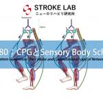 vol.280:CPGとsensory body schema(ボディースキマ)  脳卒中/脳梗塞のリハビリ論文サマリー