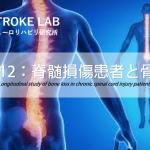 vol.312:脊髄損傷患者と骨密度  脳卒中/脳梗塞のリハビリ論文サマリー