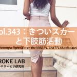 vol.343:きついスカートと下肢筋活動   脳卒中/脳梗塞のリハビリ論文サマリー