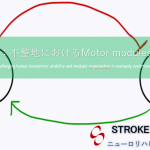 vol.371:不整地におけるMotor modulesの変化  脳卒中/脳梗塞のリハビリ論文サマリー