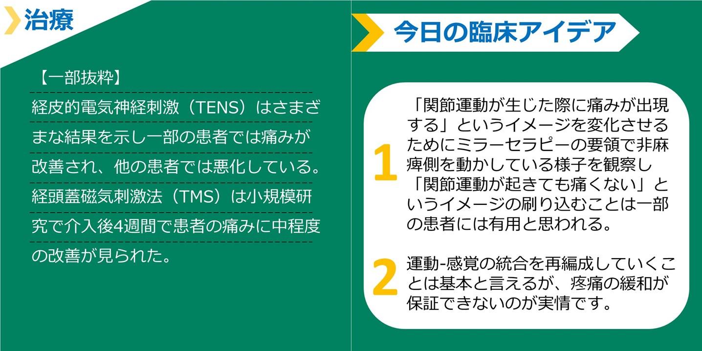 視床痛(中枢性疼痛)についての最新知見 まとめ(2)